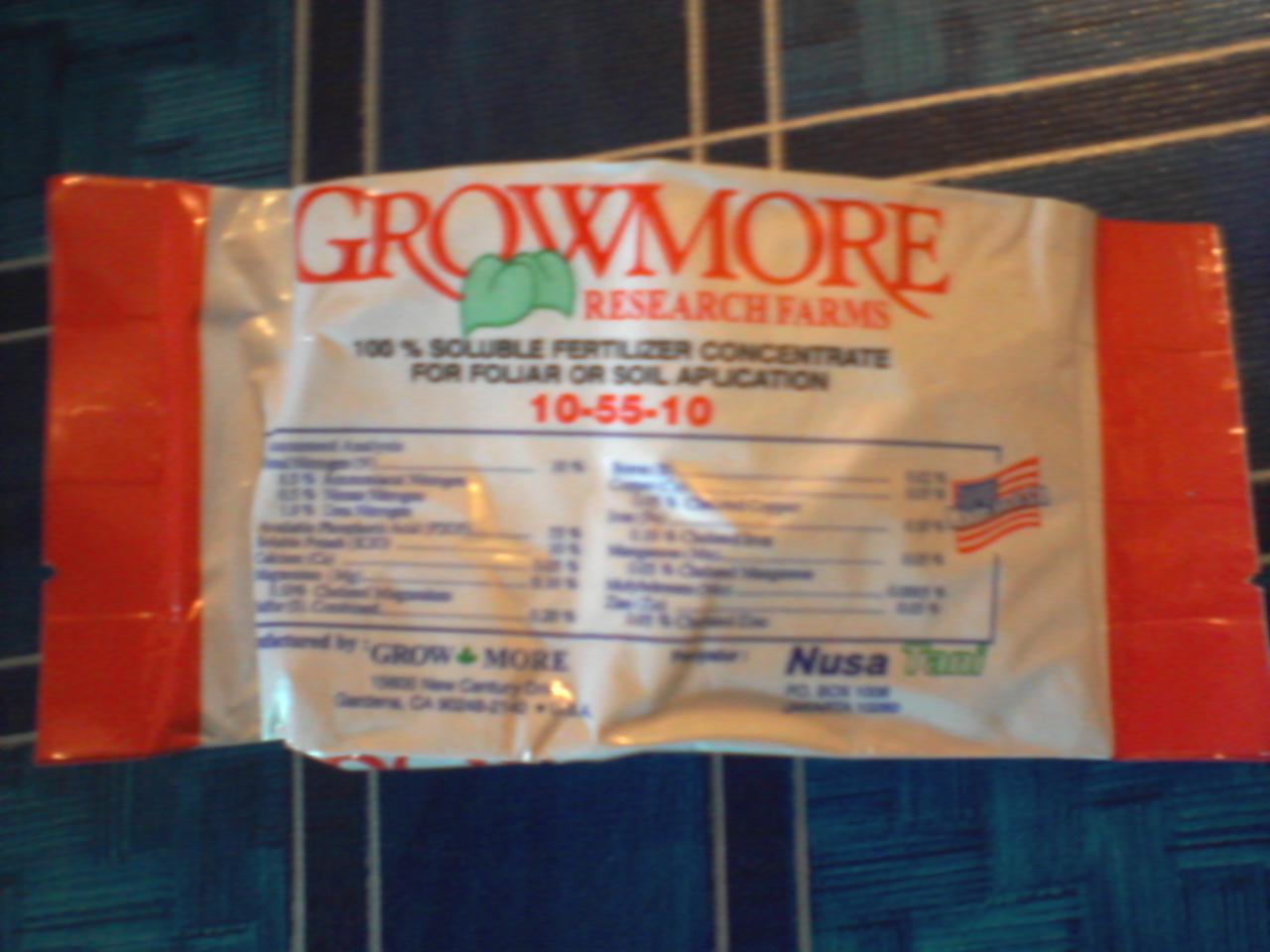 Beli Daftar Harga Pupuk Growmore Terupdate Oktober Nutrisi Npk Bunga Dan Buah 6 30 454gram Gambar Terkait